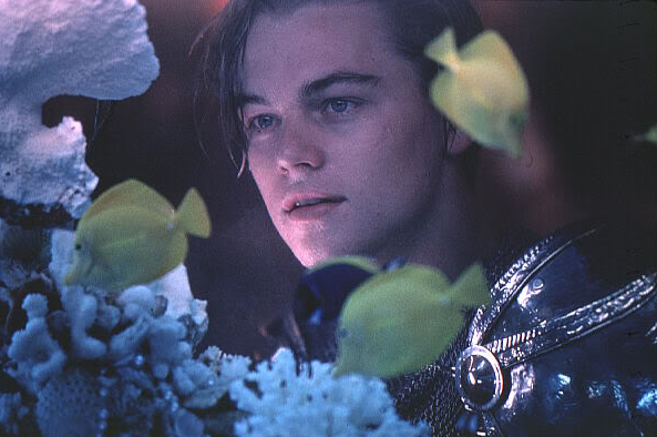 leonardo dicaprio romeo and juliet poster. Leonardo DiCaprio changed my
