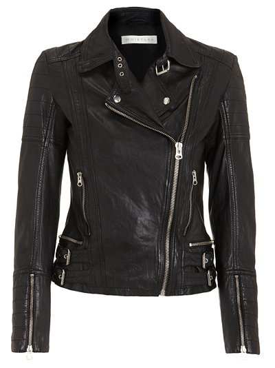 Asos Fashion Finder Clarks on Whistles Roxy Leather Jacket